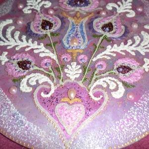 Magyaros mandala, Otthon & Lakás, Mandala, Dekoráció, 30 cm-es magyaros mandala névnapra,szülinapra ajándékba ,lepje meg szeretteit e különleges ajándékka..., Meska