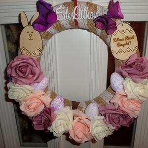 Husvéti virágos kopogtatók, Ajtódísz & Kopogtató, Dekoráció, Otthon & Lakás, Virágkötés, Kötés, Húsvét,és tavasz alkalmából lepje meg szeretteit ,e gyönyörű húsvéti kopogtatókkal..., Meska