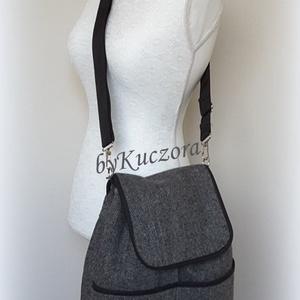 Salzburg hátizsák, 3 az 1-ben táska: hátitáska, hátizsák, válltáska, oldaltáska (byKuczora) - Meska.hu