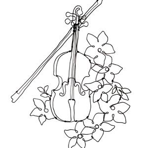 Hegedű -Drótból készített fali dísz / Zenenekedvelő ajándékötlet / Muzsika / Dallam /Hangszer , Otthon & Lakás, Dekoráció, Falra akasztható dekor, Mindenmás, Ez a falra akasztható dísz kíváló ajándék lehet zene kedvelőknek, zenészeknek, művészeknek.\n\nMérete:..., Meska