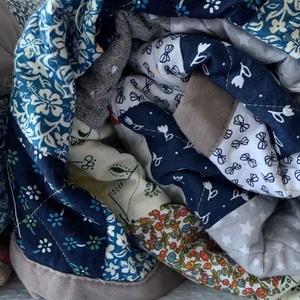 Patchwork foltmozaik takaró, Ágytakaró, Lakástextil, Otthon & Lakás, Varrás, Patchwork, foltvarrás, A termék a képen láthatóhoz képest több részletben is eltérhet. 240 x 160 cm méretű  Patchwork vinta..., Meska