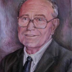 Portréfestmény 40x50 cm-es méretben vászonra festve (anikoart) - Meska.hu