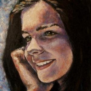 Portréfestmény 40x50 cm-es méretben vászonra/fára festve, Művészet, Olajfestmény, Festmény, Olajjal készített portréfestmény fotóról 40x50 cm-es méretben vászonra/fára festve.  Ha küldesz egy ..., Meska
