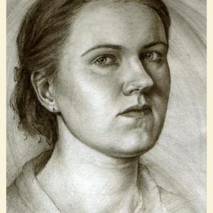 Portré (grafika) kb. 40x50 cm-es méretben papíron, Művészet, Grafika & Illusztráció, Portrégrafika fotóról kb. 40x50 cm-es méretben papíron.  Ha küldesz egy jó minőségű (nagy felbontású..., Meska