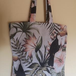 Trópusi vászon táska (annailles) - Meska.hu