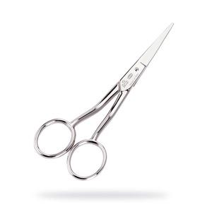 Hajlított olló, Szerszámok, eszközök, Vágóeszköz, kézi, Hímzés, Mindenmás, Különösen szőnyegkészítési technikához, punch needle technikához ajánlott olló, mely hajlított fogan..., Meska