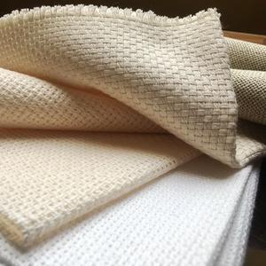 Pamutvászon - finom szövésű, Textil, Vászon, Alapanyag kifejezetten punch needle/hímzőtű technikához, nem azonos a hagyományos hímzővászonnal.  1..., Meska