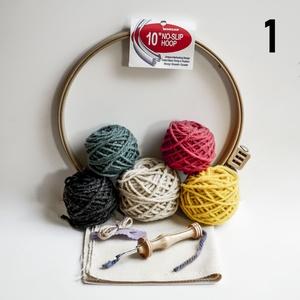Punch needle készlet, DIY (leírások), Egységcsomag, Hímzés, Mindenmás, A csomag mindent tartalmaz ahhoz, hogy az Oxford Punch Needle használatával egy saját képet tudj kés..., Meska