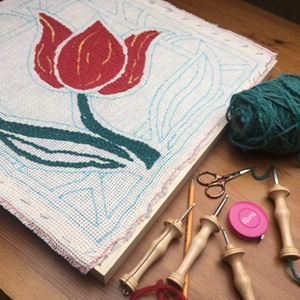 Punch needle képzés - online óra (AnnaKamadar) - Meska.hu