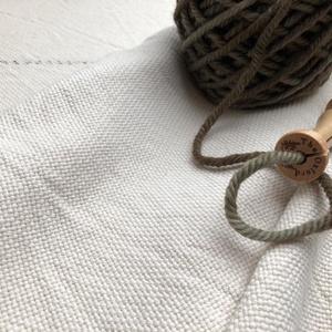 Hímzővászon - punch needle technikához - textil - pamut - Meska.hu