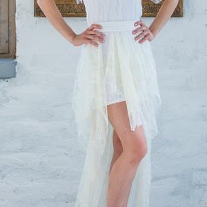 Esküvői csipkeruha, Táska, Divat & Szépség, Esküvői ruha, Ruha, divat, Esküvői csipkeruha elasztikus csipkéből több méretben egyénre szabottan. Saját tervezésű és készítés..., Meska