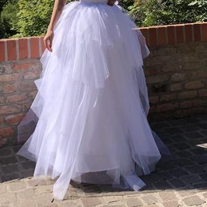 Tüllszoknya, Esküvő, Menyasszonyi ruha, Tüllszoknya többféle színben és méretben, Meska