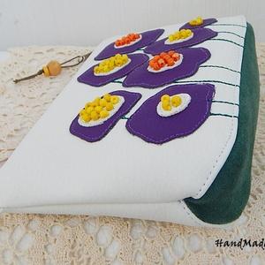 Mesevirágos - két színű neszesszer (annetextil) - Meska.hu