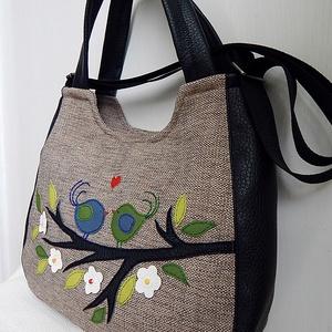 Szerelmes madárkák 3inOne univerzális táska (annetextil) - Meska.hu
