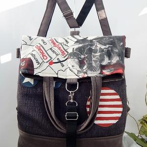 ROUTE 66 - Chameleon shopping backpack 5:1  (annetextil) - Meska.hu