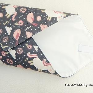 Wrap bag - vízhatlan szalvéta - unikornisok (annetextil) - Meska.hu