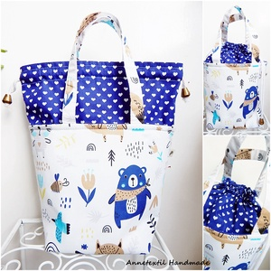 ÖKO Kids bag - erdei macis uzsonnás táska, Táska & Tok, Uzsonna- & Ebéd tartó, Piknik kosár & táska, Varrás, Anne kids bag - RENDELHETŐ!\n\nElsősorban gyerekeknek terveztem ezt az uzsonnás táskát, mely a felnőtt..., Meska