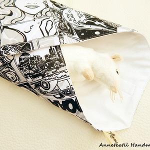 Wrap bag -  képregény  (annetextil) - Meska.hu