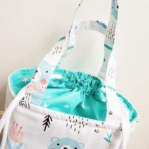 Kids bag - erdei macis uzsonnás táska (annetextil) - Meska.hu