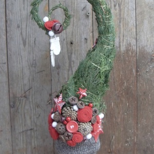 A Grincs fája  - mókás stilizált fenyőfa (anniesdesign) - Meska.hu