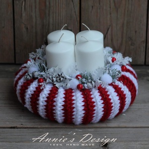 Peppermimt candy - adventi szett (anniesdesign) - Meska.hu