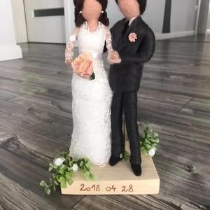 Menyasszony és vőlegény, Esküvő, Nászajándék, Esküvői dekoráció, Nemezelés, Famegmunkálás, Az esküvőnk napja, egy fontos szakasza az életünknek. Egy napra minden körülöttünk forog. Ha tetszen..., Meska