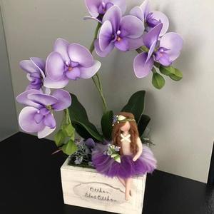 Orchidea tündérrel - Meska.hu