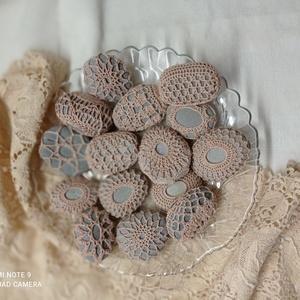 Kavicsok horgolt ruhában, Otthon & Lakás, Dekoráció, Kavics & Kő, Horgolás, Meska