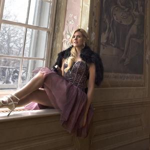 Alkalmi ruha, Ruha & Divat, Alkalmi ruha & Estélyi ruha, Női ruha, Egyedi tervezésű mini ruha,nagyon sexi különlege.Köves mell díszítéssel.Több rétegű tüllből.,merevít..., Meska
