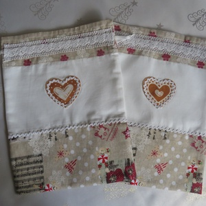 Textil zsák karácsonyi mintával (antalnemarta) - Meska.hu