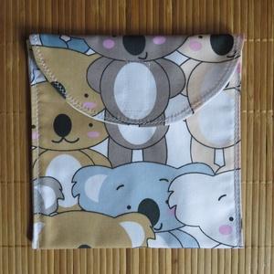 Újratasak - Koala macis, NoWaste, Textilek, Textil tároló, Varrás, Az újratasak egy modern, öko csomagoló ami könnyebbé teszi a hétköznapokat az iskolában, munkahelyen..., Meska
