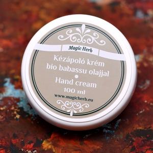 Kézápoló krém BIO Babassu olajjal és ápóló Körömvirág olajjal, Férfiaknak, Borotva, szappan, pipere, Táska, Divat & Szépség, Szépség(ápolás), Kozmetikum, Egészségmegőrzés, Kozmetikum készítés, Kézápoló krém BIO Babassu olajjal és ápóló Körömvirág olajjal\nEz a könnyen felszívódó kiváló kézkrém..., Meska