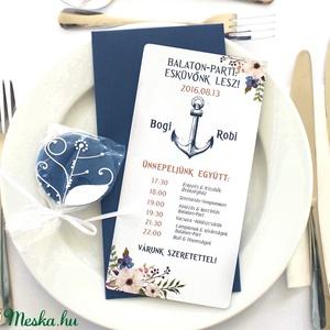 Leveles-virágos ültető,esküvőre - esküvő - meghívó & kártya - ültetési rend - Meska.hu