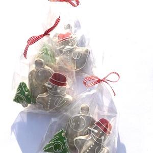Karácsonyi csomagocska, Karácsony, Mézeskalácssütés, Meska