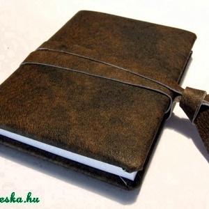 Antikolt bőr napló  (anyeska) - Meska.hu