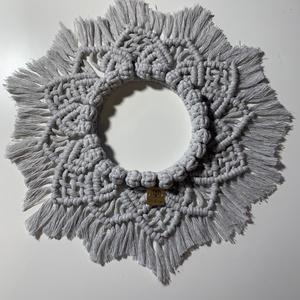 Makramé falidísz mandala (Anyuca) - Meska.hu