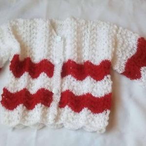 Kötött baba kardigán ,pulóver (anyuci14) - Meska.hu