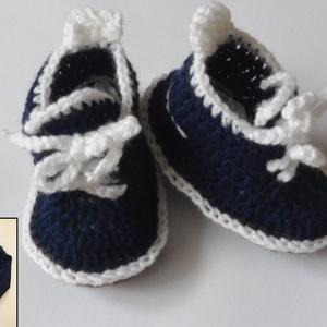 Horgolt fiú baba cipő keresztelőre, Táska, Divat & Szépség, Cipő, papucs, Gyerek & játék, Baba-mama kellék, Horgolás, Alkalmi  horgolt kis cipő.Ha már meg van keresztelőre a cuki öltöny akkor nálam rendelhetsz hozzá il..., Meska