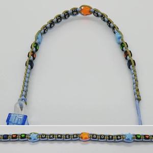 Microcord cumilánc, Cumilánc, 3 éves kor alattiaknak, Játék & Gyerek, Csomózás, Ha egy igazán strapabíró, nyúzható, rágcsálható cumiláncot szeretnél, erre van szükséged! Microcordb..., Meska