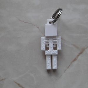 Csontváz kulcstartó (Apollo78) - Meska.hu
