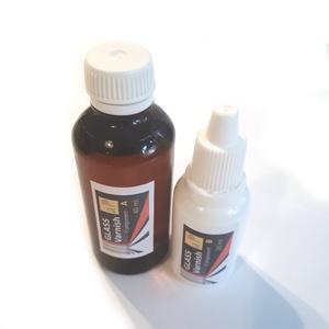 Üveglakk 60 ml, Dekorációs kellékek, Festék, Egyéb kellékek, Üvegfesték, Ez egy igen kemény anyagot ad a két komponens tösszekeverése és térhálósodása után. Epoxigyanta alap..., Meska