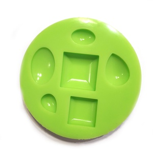 Szilikon Öntőforma Vegyes Lencse Ékszerkő Készítéshez, Szerszámok, eszközök, Sablonok, Eszköz ékszerkészítéshez, Ez egy ékszerkő készítő szilikon forma. Alkalmas medálok, gyűrűk betéteinek, ékszerköveinek öntésére..., Meska