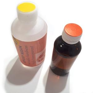 Epoxigyanta, kétkomponensű, víztiszta, UV stabil, változtatható keménységű (apraktika) - Meska.hu