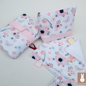 Madárka-alvókendő, játszókendő kisbabáknak!   (aprotextil) - Meska.hu
