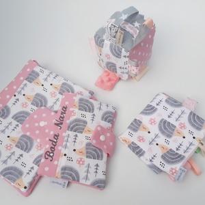 Sünik-Készségfejlesztő játékkocka kisbabáknak . :) (aprotextil) - Meska.hu