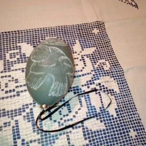Madaras, egyedileg gravírozott emu tojás (araabica) - Meska.hu