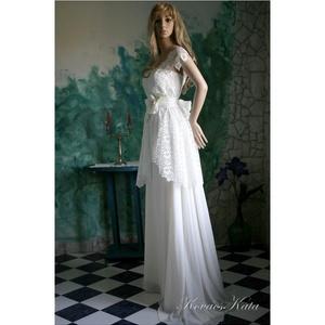 GERTIE - menyasszonyi ruha (Aranybrokat) - Meska.hu