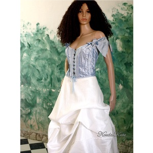 MARY-JANE - menyasszonyi ruha (Aranybrokat) - Meska.hu