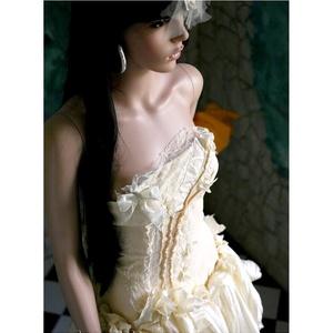 MIMI - menyasszonyi ruha (Aranybrokat) - Meska.hu