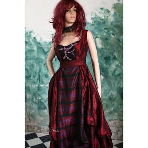 ROMOLA - nagyestélyi XL - ruha & divat - női ruha - alkalmi ruha & estélyi ruha - Meska.hu